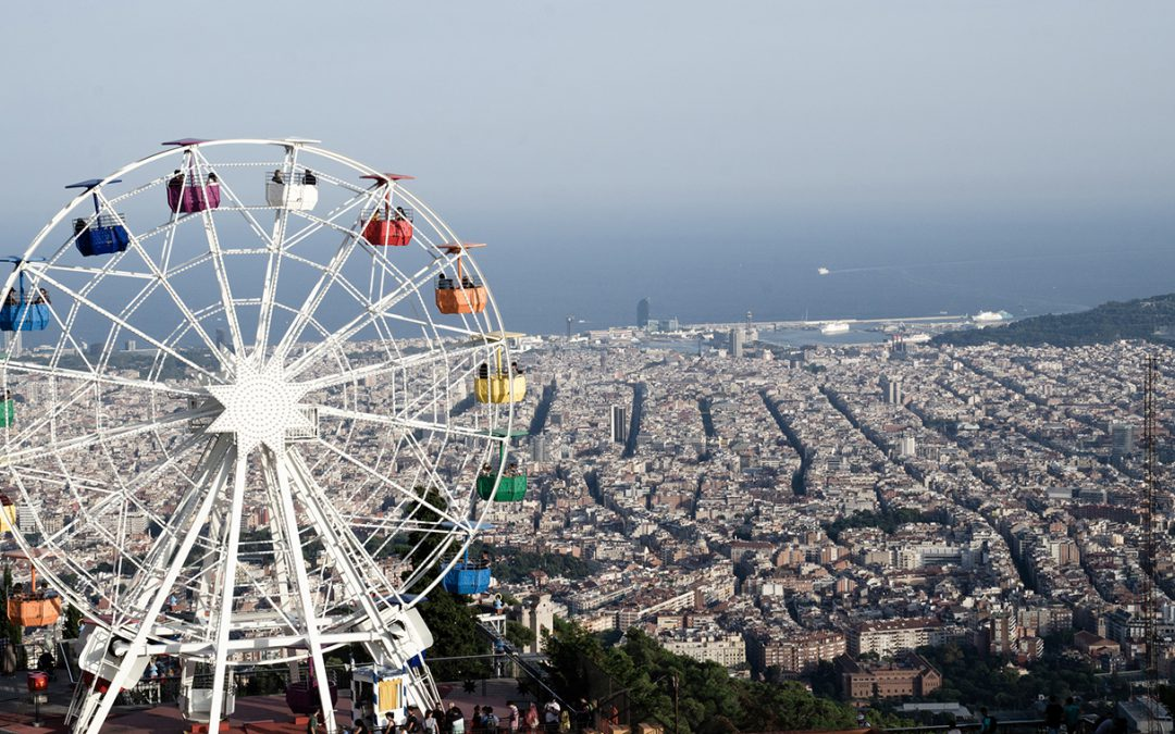 Barcelona | Tibidabo, the amusement park in the clouds